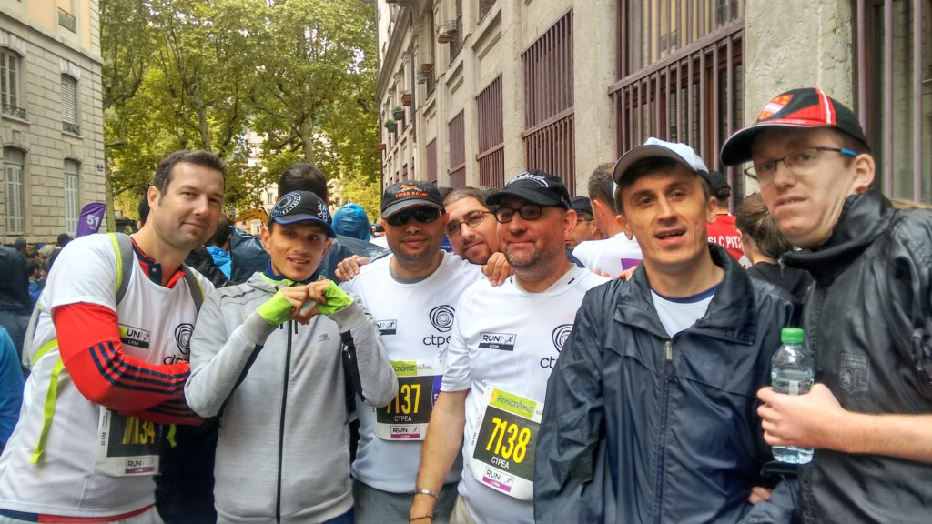 Run in Lyon 1